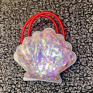 broadway show the little mermaid shell purse